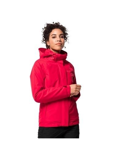 Jack Wolfskin Iceland Voyage 3In1 W Kadın Outdoor Ceket Renkli